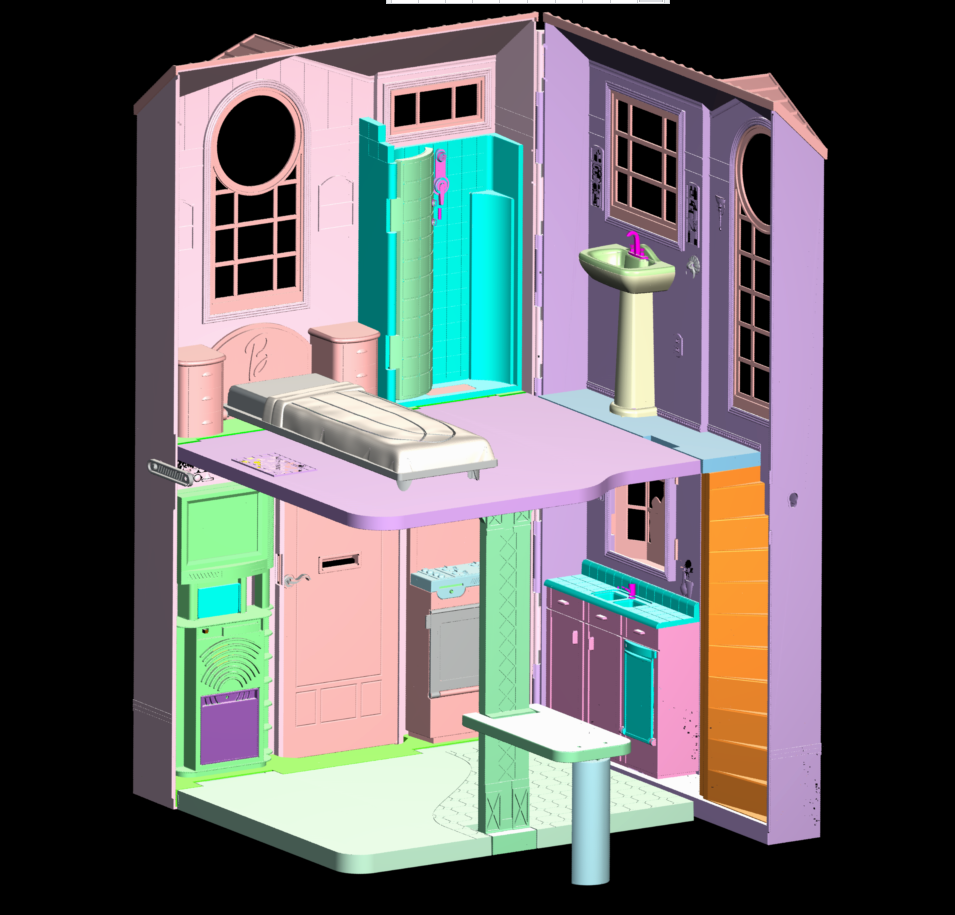 Barbie Talking Townhouse