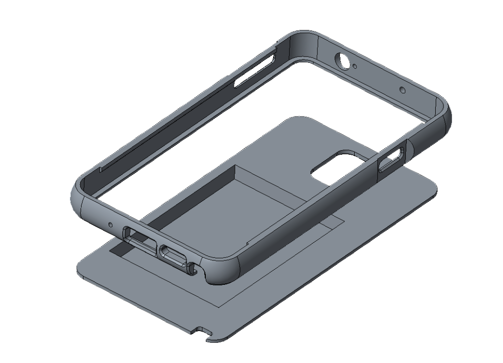 Samsung Galaxy Note 3 Extended battery case