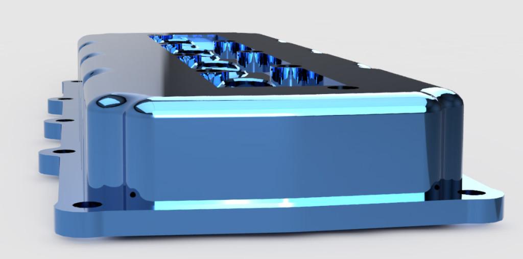 Custom hemi valve cover